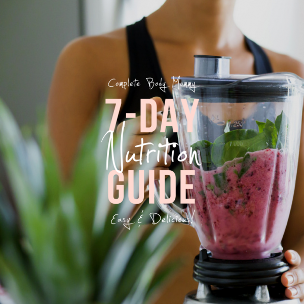 7-Day Nutrition Guide