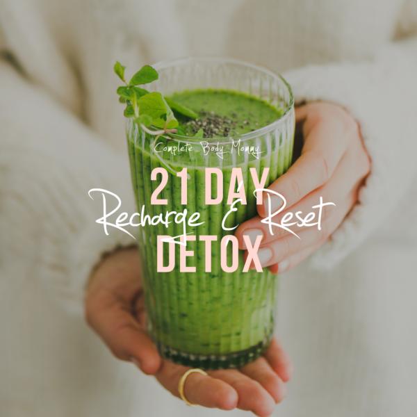 21-Day Online Reset & Recharge Detox